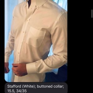 White Dress Shirt - like new condition!